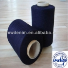 China wholesale 20s combed indigo dyed cotton yarn