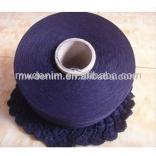 20s Indigo open end knitting cotton yarn