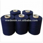 for knit fabric spun yarn