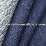different OZ fake knitted denim made by indigo yard dyed